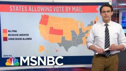 Kornacki Takes A Look At Mail-In Voting By The Numbers | MTP Daily | MSNBC 6
