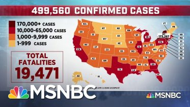 U.S. Now Has The Most Coronavirus Deaths, Surpassing Italy | MSNBC 5