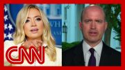 Journalist details heated exchange with McEnany on reopening places of worship 4