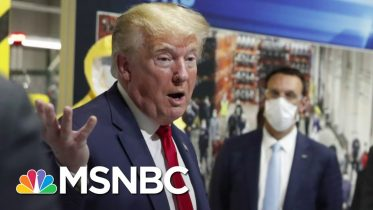 Michigan Doctor: Trump Is 'Failing Us Yet Again' By Not Wearing A Face Mask | The Last Word | MSNBC 6