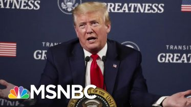 Eyeing 2020 Race, Trump Pushes Reopening As Unemployment Soars | The 11th Hour | MSNBC 6