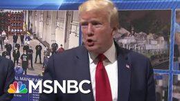 President Donald Trump Eschews Leadership Role, Flouts Michigan Mask Rule | Rachel Maddow | MSNBC 7