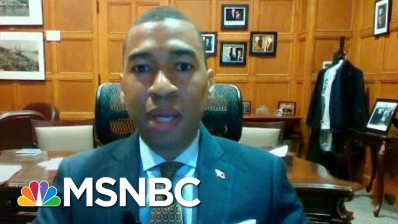 Alabama's Reopen Ambitions Strain City's Hospital Resources | Rachel Maddow | MSNBC 1