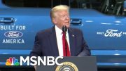 Trump Slams Autoworkers Union Over Biden Endorsement | Morning Joe | MSNBC 4