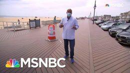 Summer Season Kicks Off In A Pandemic Along Jersey Shore | Andrea Mitchell | MSNBC 5