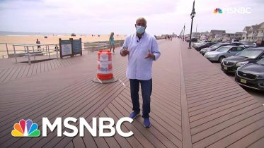 Summer Season Kicks Off In A Pandemic Along Jersey Shore | Andrea Mitchell | MSNBC 10