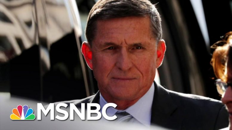 Turns Out Michael Flynn Was Never 'Masked' To Begin With | Deadline | MSNBC 1