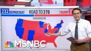 Kornacki Breaks Down Joe Biden's Potential Paths To 270 Electoral Votes | MTP Daily | MSNBC 4