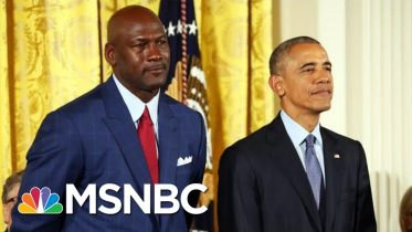 See The Key Lesson Obama Learned From Michael Jordan On Winning And 'Greatness' | MSNBC 5