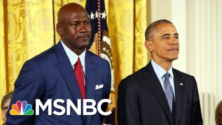 See The Key Lesson Obama Learned From Michael Jordan On Winning And 'Greatness' | MSNBC 1