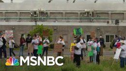 OSHA Oddly Reticent Despite Worker Peril In Coronavirus Era | Rachel Maddow | MSNBC 2
