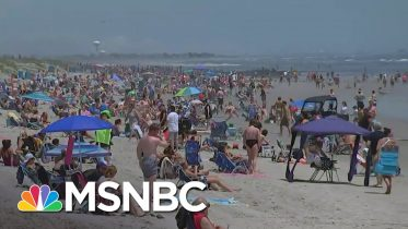 New Jersey Beaches Reopen For Memorial Day Weekend | MSNBC 2