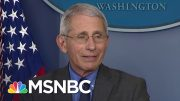 'Wrong Choice Of Words': Fauci Walks Back Criticism Of Trump Coronavirus Response | MSNBC 4