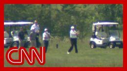 Trump spends weekend golfing amid coronavirus pandemic 5