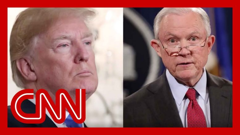 Trump blasts Jeff Sessions as 'not mentally qualified to be attorney general' 1