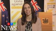 Jacinda Ardern barely skips a beat when earthquake hits during live interview 3