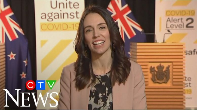 Jacinda Ardern barely skips a beat when earthquake hits during live interview 1