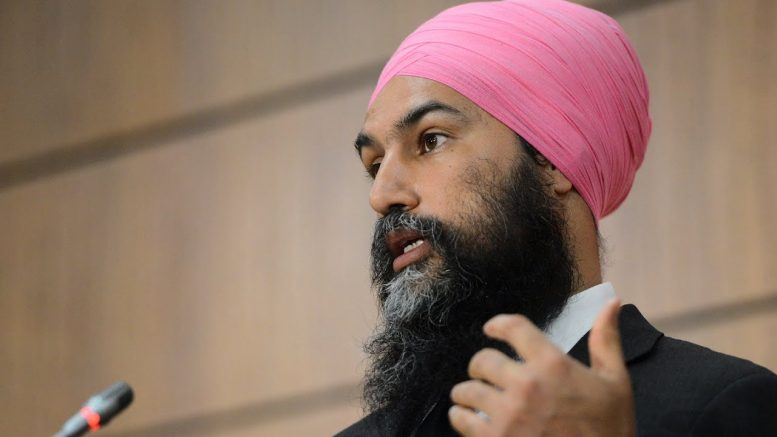 "Paid sick leave ""line in the sand"" for NDP support, says Jagmeet Singh 1"