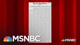 U.S. Death Toll From Coronavirus Nears 100,000 | MSNBC 8