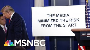 As Unemployment Soars, Trump Ignores Nation's Worries In Combative Briefing | The 11th Hour | MSNBC 6