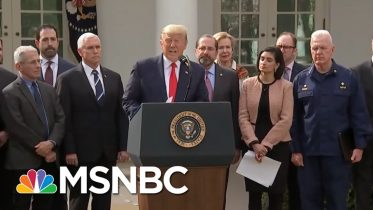 US Eager To Leave Lockdown Finds Trump Failed On Month-Old Promises | Rachel Maddow | MSNBC 6