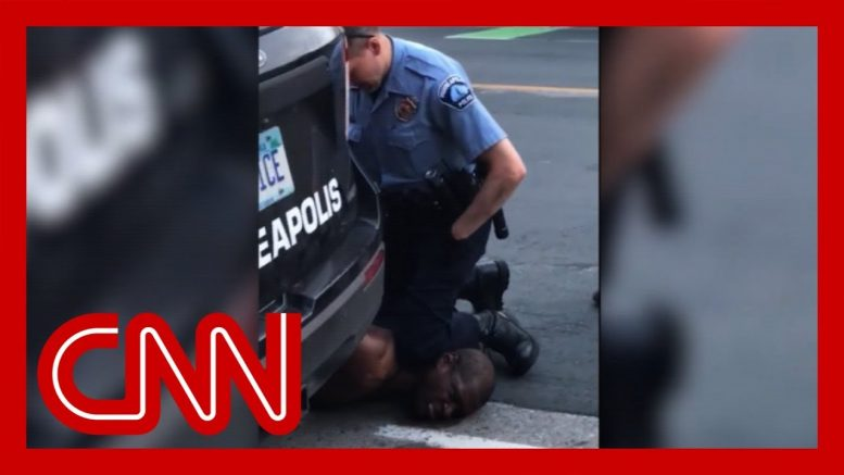 4 cops fired after video shows one kneeling on neck of black man who later died 1