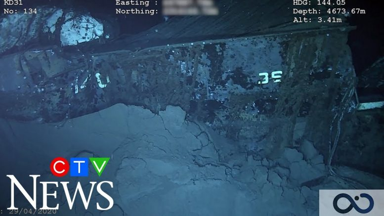 Legendary battleship USS Nevada discovered 72 years after it was sunk in a nuclear blast 1
