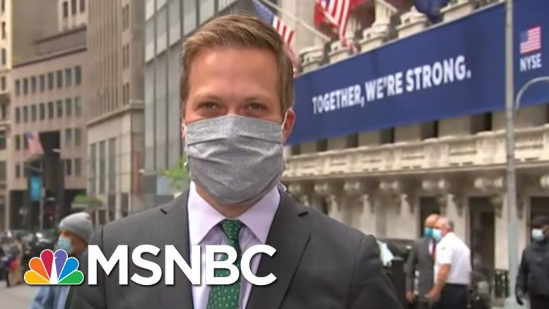 Gov. Andrew Cuomo Rings Bell As NYSE Floor Reopens With New Restrictions | Stephanie Ruhle | MSNBC 1