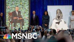 Trump's New Effort To 'Erase' Obamas Is Backfiring, Says Obama Portrait Artist | MSNBC 4