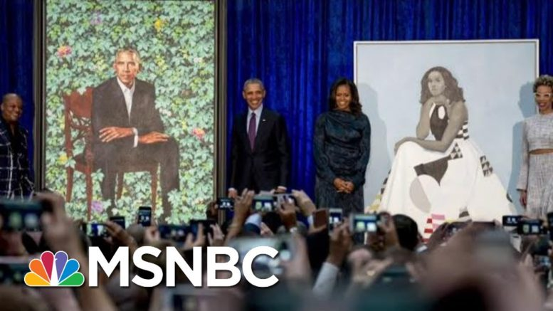 Trump's New Effort To 'Erase' Obamas Is Backfiring, Says Obama Portrait Artist | MSNBC 1