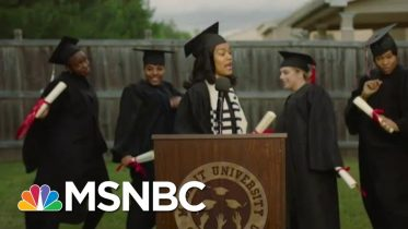 Teyana Taylor Explains 'Made It' Video As Her Daughter Interrupts News Interview | MSNBC 6
