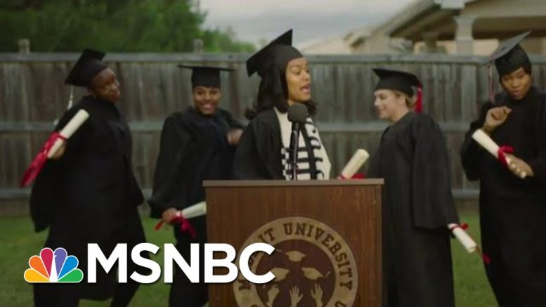 Teyana Taylor Explains 'Made It' Video As Her Daughter Interrupts News Interview | MSNBC 1