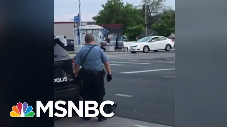 Minneapolis Police Officers Terminated After Death Of George Floyd | MSNBC 1
