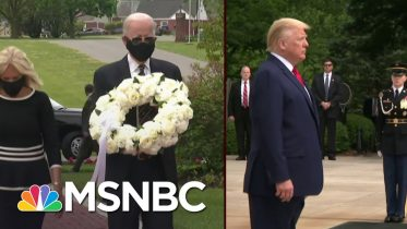 A Stark Illustration Of The Choice Voters Will Have In November | Deadline | MSNBC 6