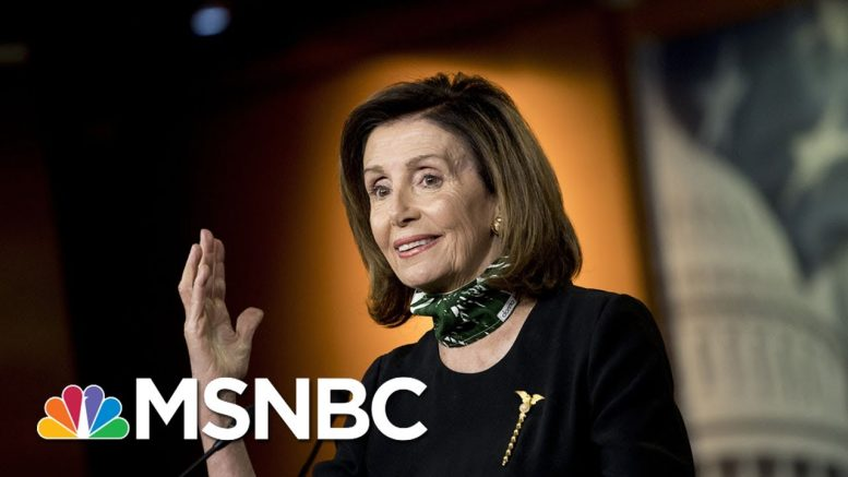Speaker Nancy Pelosi: We Need To Test With A Strategy | All In | MSNBC 1