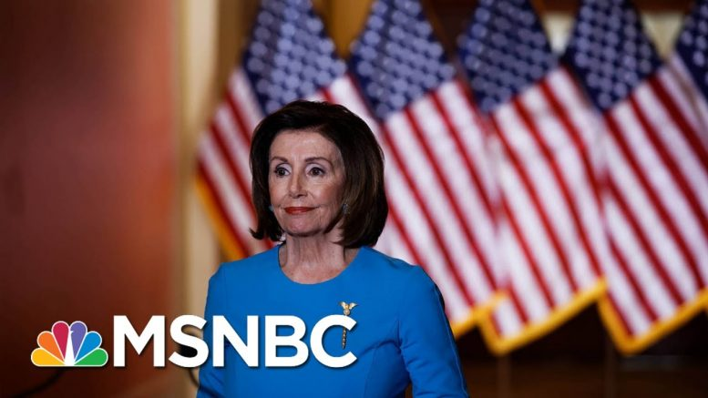 Pelosi: Americans Shouldn't Have To Choose Between Their Health And Their Vote | All In | MSNBC 1