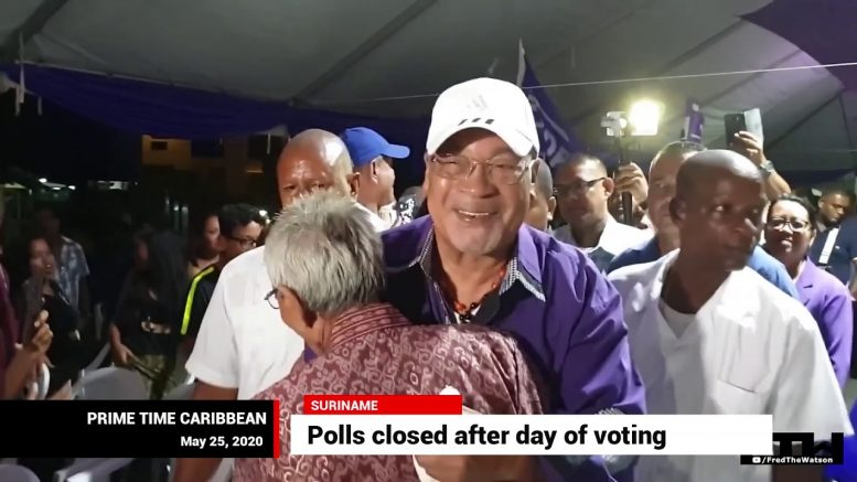 SURINAME: Waiting on results 1