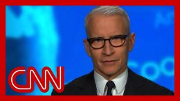 'What a little man,' Anderson Cooper reacts to Trump's conspiracy 7