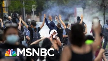 Minneapolis Officers Fired After Fatal Arrest Of Unarmed Black Man | The 11th Hour | MSNBC 3