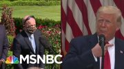 Wearing A Mask Is 'Not Political,' Says Reporter | Morning Joe | MSNBC 3
