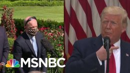 Wearing A Mask Is 'Not Political,' Says Reporter | Morning Joe | MSNBC 1