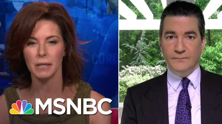 Dr. Gottlieb: We Need To Bring Testing Into The Highest Risk Communities | Stephanie Ruhle | MSNBC 1