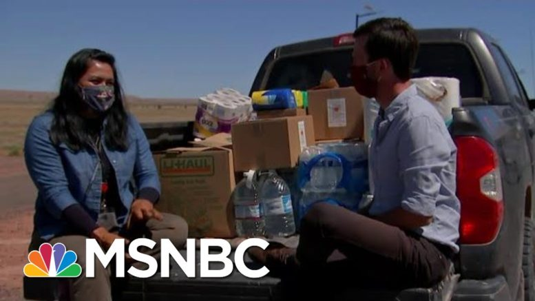 Navajo Nation Struggling To Cope With Worst-In-The-Country Outbreak | Hallie Jackson | MSNBC 1