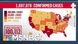 BREAKING: U.S. Coronavirus Deaths Pass 100,000 Mark | MSNBC 7