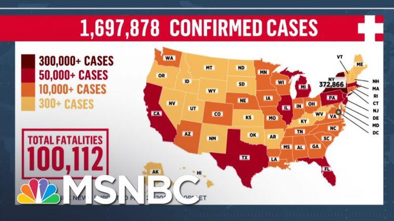 BREAKING: U.S. Coronavirus Deaths Pass 100,000 Mark   MSNBC 1