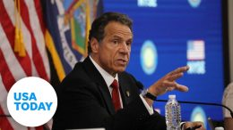 Gov. Andrew Cuomo holds his daily briefing on pandemic response in New York | USA TODAY 1