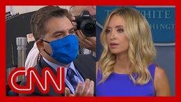 Acosta: Trump's press secretary just told a whopper 4
