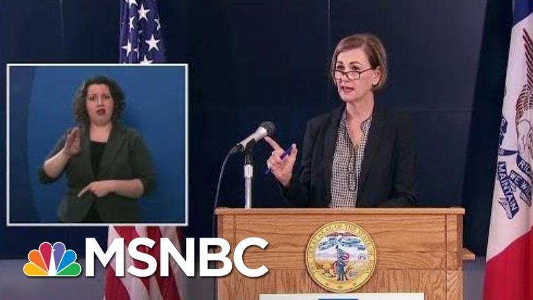 Weird Math, Opaque Policies Keep People In The Dark On COVID-19 | Rachel Maddow | MSNBC 1