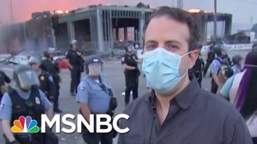 Tension Mounts In Minneapolis As Protesters Clash With Police | Morning Joe | MSNBC 6