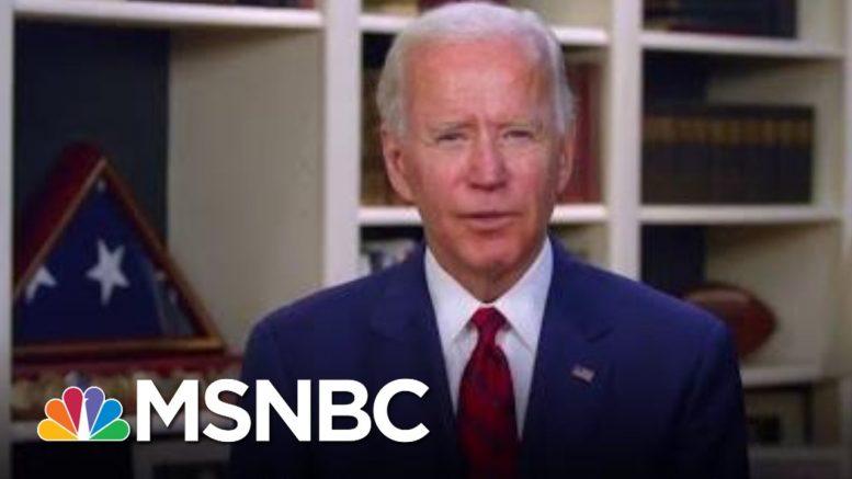Joe Biden Marks Solemn Occasion Of 100,000 Lives Lost To Virus | Morning Joe | MSNBC 1